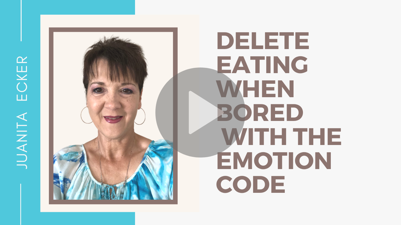 Delete Emotional Eating Habits with the Emotion Code